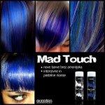 Subrina Mad Touch Gelová barva na vlasy Midnight Blue 200 ml