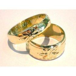 Zlate Snubni Prsteny Ryte 0042 Alternativy Heureka Cz