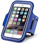 Pouzdro Sportiso Sportovní Armband iPhone 6/6S/7 Modré