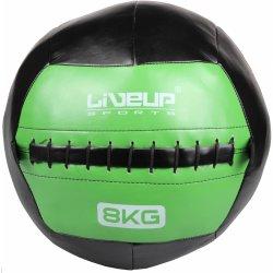 LiveUp Wall ball kožený 5 kg