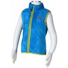 PIDILIDI chlapecká fleecová vesta modrá