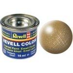 Revell emailová 32192: metalická mosazná brass metallic