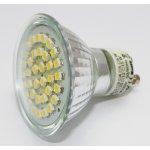 G21 LED žárovka GU10 36 SMD2835, 230V, 4W, 360lm, bílá