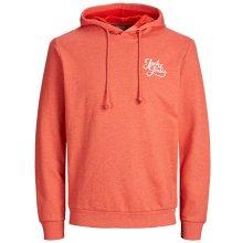 e3b41e9457a Jack   Jones Pánská mikina Jorgalions Sweat Hood Brushed Fiery Red
