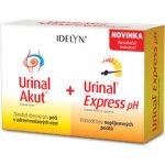 Idelyn Urinal Akut + Urinal Express pH 10 tbl. + 6 sáčků