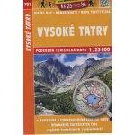 Shocart Vysoké Tatry turistická mapa