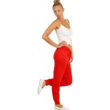 TopMode Dámské harémové kalhoty červená 913642cae7