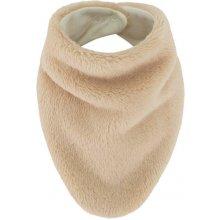 Esito šátek na krk Lara podšitý bavlnou Béžová