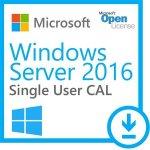 OEM Microsoft Windows Server CAL 2016 Eng 1 User CAL - R18-05225