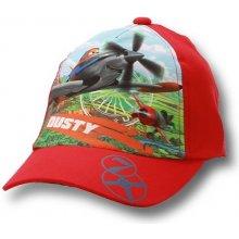 fdf105a09fc Dětská chlapecká kšiltovka Planes Setino 770-746 červená