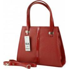 Dawidex kabelka lakovaná do ruky červená