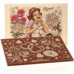 Čokoládovna Troubelice Velká čokoláda s reliéfem pro ženu mléčná 51% 120g