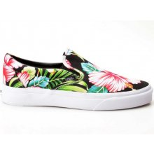 Vans Classic Slip On Checkerboard Floral Black