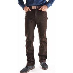 bbc0d710f33 Pánské sportovně-elegantní kalhoty D-101822 tmavohnědé DOCKHOUSE od ...