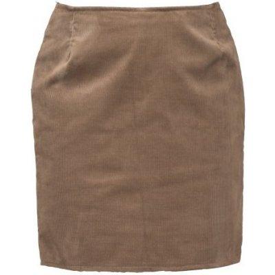 L&L sukně manšestrová hnědá