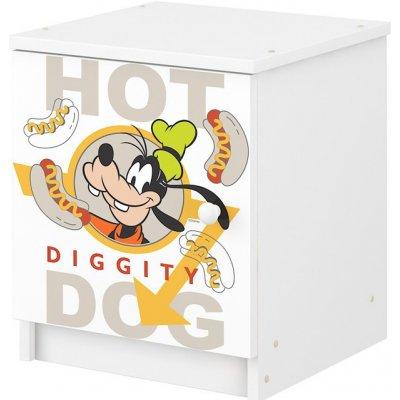 Dětský noční stolek Mickey a kamarádi nightstand Mouse Pluto