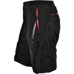 2a9adb5c255 Cyklistické kalhoty Silvini Mago MP858 pánské black