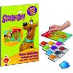 Piskové omalovánky Maxi Scooby Doo