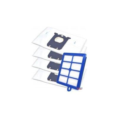 HEPA Filtr pro vysavač PHILIPS FC 9186 PerformerPro a 5l sáčky 1+4ks
