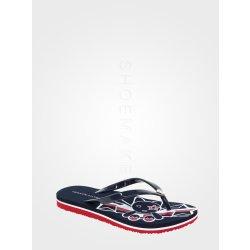 Dámská obuv Tommy Hilfiger Dámské žabky navy red FW0FW02831-020-355 b99c3ecc548