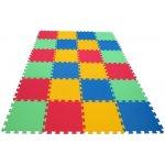 Malý Genius Pěnový koberec MAXI 24 Silný 4 barvy