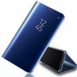 Pouzdro SES Zrcadlové Flip Huawei Honor View 10 - modré