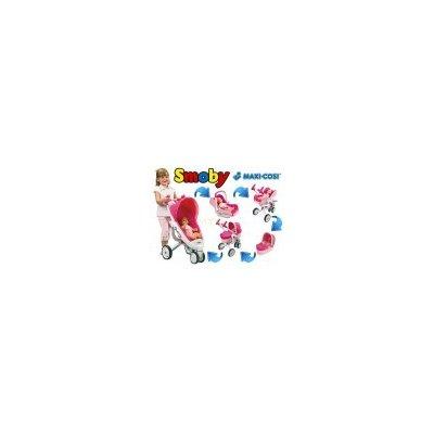 Smoby kombinovaný kočárek Maxi Cosi Quinny 5v1 s autosedačka pro panenky 550389 550389