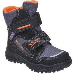 Dětská bota Superfit 1-00044-03 zimní boty HUSKY černá 8f212073d1