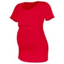 Jožánek Kateřina tričko pro snadné kojení KR červená