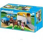Playmobil 5223 AUTO S PŘÍVĚSEM PRO KONĚ