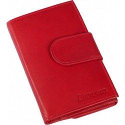L428 Dámská kožená červená peněženka Loranzo 428 27ddeb67e3