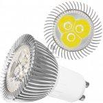 LEDme LED Žárovka S 5W GU10 240V studená bílá BDS-GU10-SB-5W-240V