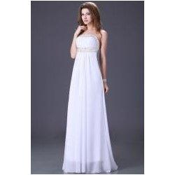 Plesové či svatební šaty s holými zády bílé alternativy - Heureka.cz a12d1cc7b4