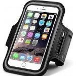 Pouzdro Sportiso Sportovní Armband iPhone 6/6S/7 černé