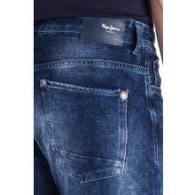 Pepe Jeans CAGE SHORT Modrá