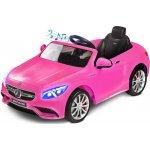 Toyz elektrické autíčko Mercedes Benz S63 AMG2 motory pink
