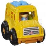 Mega Bloks Maxi Školní autobus s kostkami Sonny
