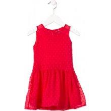 Losan dívčí šaty červená 1bde71898b