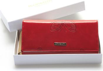 564d59652a020 Lorenti Peněženky Dámská červená kožená peněženka Chiara Červená  alternativy - Heureka.cz