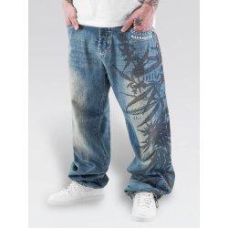Pánské džíny Dangerous DNGRS Hemp Baggy Jeans Mid Blue 02212ccb4f