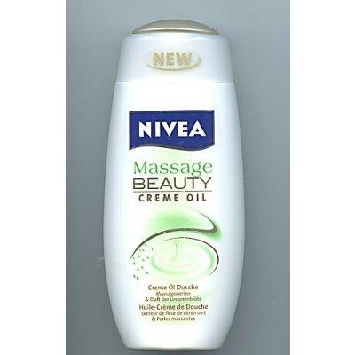 Nivea Massage Beauty Creme Oil sprchový gel 250 ml
