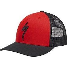 d34bc8ff57c Specialized čepice Specialized Trucker Snapback Hat S-Logo red blk 2018