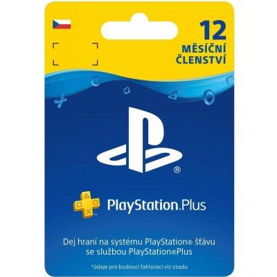 Sony PlayStation Plus členství 12 měsíců