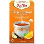 Bio Nebio Zázvor Pomeranč s vanilkou Yogi Tea 17 x 1.8 g