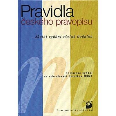 Kolektiv autorů - Pravidla českého pravopisu -- Školní vydání včetně Dodatku