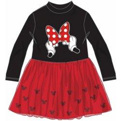 0a3669a81466 Disney by Arnetta Dívčí šaty Minnie černo-červené alternativy ...