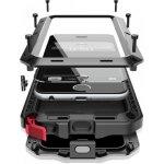 Pouzdro SES EXTRÉMNĚ odolné hliníkovo-silikonové Apple iPhone 7 - černé