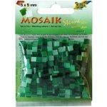 Folia Mozaika plastová 5 x 5 mm Zelená