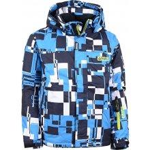Nordblanc Arrow NBWJK4676 dětská zimní bunda azurová modrá