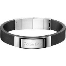 Calvin Klein Kožený náramek Dapper KJ7QBB290100